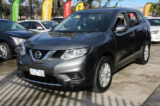 2014 Nissan X-Trail T32 ST (FWD) Grey Continuous Variable Wagon.