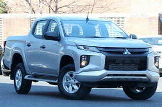 2018 Mitsubishi Triton MR MY19 GLX Plus (4x4) White 6 Speed Manual Double Cab Pickup.