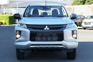 2018 Mitsubishi Triton MR MY19 GLX Plus (4x4) White 6 Speed Automatic Double Cab Pickup