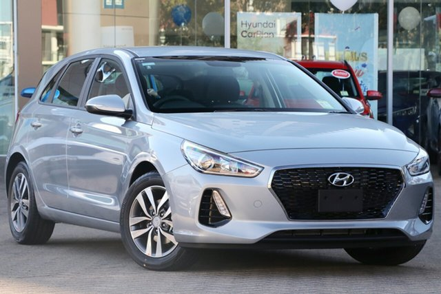 New Hyundai i30 PD2 MY20 Active, 2020 Hyundai i30 PD2 MY20 Active Typhoon Silver 6 Speed Sports Automatic Hatchback