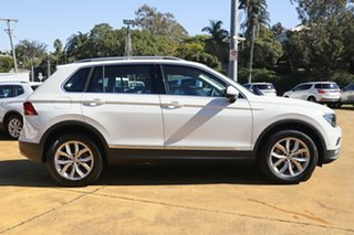 2019 Volkswagen Tiguan 5N MY19.5 132TSI DSG 4MOTION Comfortline Pure White 7 Speed.