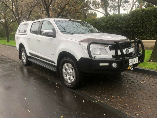 Used Holden Colorado RG MY13 LTZ Crew Cab, 2012 Holden Colorado RG MY13 LTZ Crew Cab White 6 Speed Sports Automatic Utility