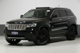 2011 Jeep Grand Cherokee WK Limited 70th Anniversary (4x4) Black 5 Speed Automatic Wagon.