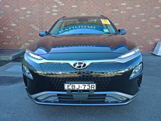2019 Hyundai Kona OS.3 MY19 electric Launch Edition Phantom Black 1 Speed Reduction Gear Wagon.
