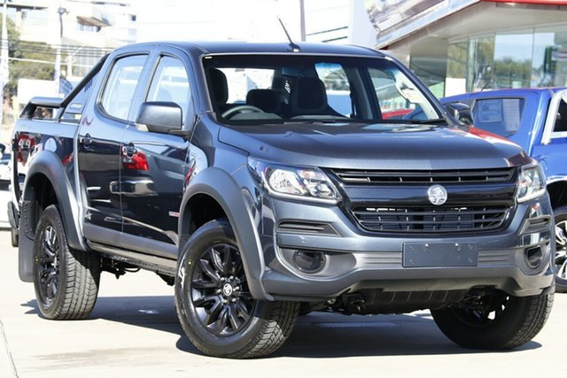 Demo Holden Colorado RG MY20 LS-X Pickup Crew Cab, 2019 Holden Colorado RG MY20 LS-X Pickup Crew Cab Dark Shadow 6 Speed Sports Automatic Utility