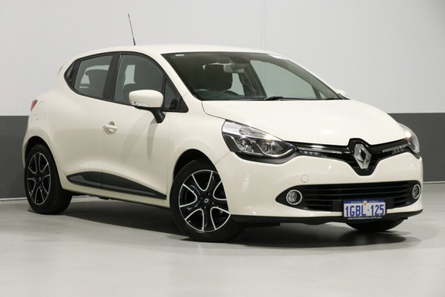 Used Renault Clio X98 Expression, 2016 Renault Clio X98 Expression Cream 6 Speed Automated Manual Hatchback