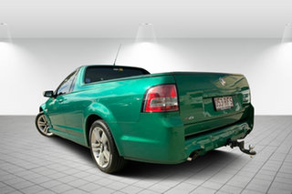 2010 Holden Ute VE II SV6 Green 6 Speed Manual Utility
