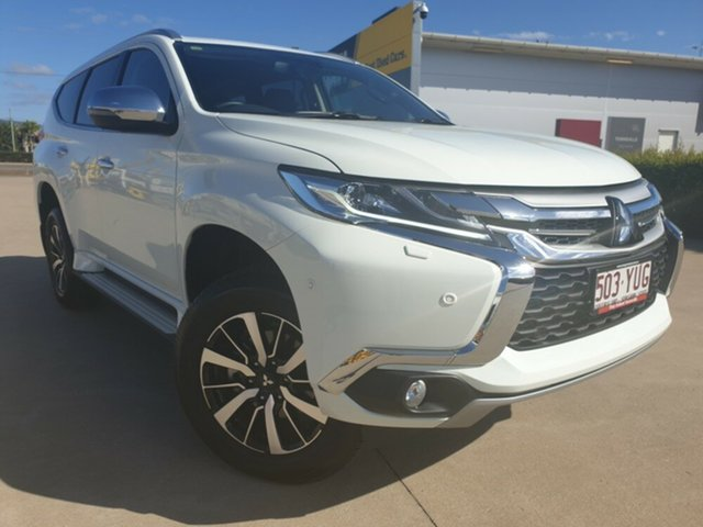 Used Mitsubishi Pajero Sport QE MY18 Exceed, 2018 Mitsubishi Pajero Sport QE MY18 Exceed White 8 Speed Sports Automatic Wagon