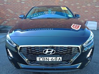 2018 Hyundai i30 PD2 MY19 Active D-CT Phantom Black 7 Speed Sports Automatic Dual Clutch Hatchback