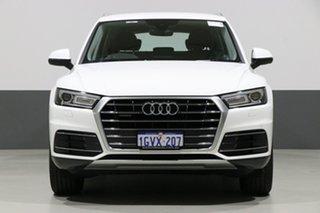 2018 Audi Q5 FY MY18 2.0 TDI Quattro Design Ibis White 7 Speed Auto S-Tronic Wagon.