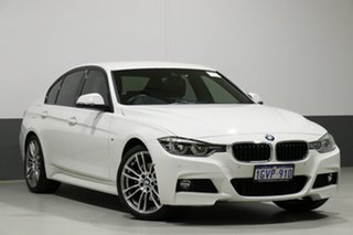 2018 BMW 330i F30 LCI MY18 M Sport White 8 Speed Automatic Sedan.