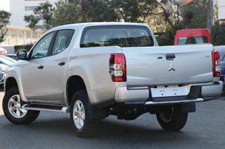 2018 Mitsubishi Triton MR MY19 GLX Plus (4x4) White 6 Speed Automatic Double Cab Pickup.