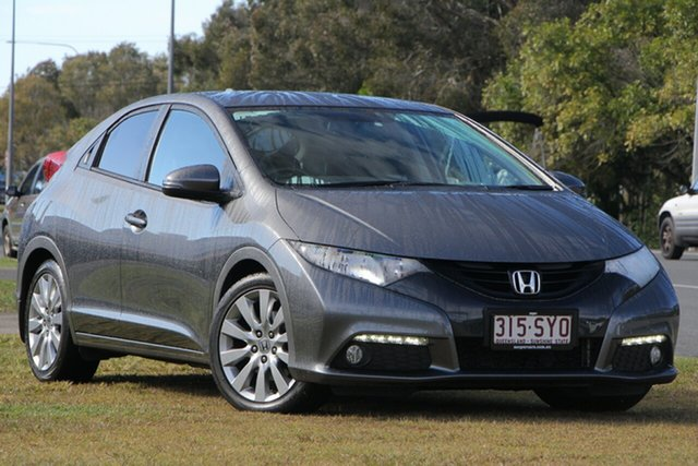 Used Honda Civic 9th Gen MY13 VTi-L, 2013 Honda Civic 9th Gen MY13 VTi-L Graphite 5 Speed Sports Automatic Hatchback
