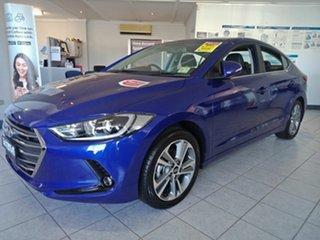 2018 Hyundai Elantra AD MY18 Elite Intense Blue 6 Speed Sports Automatic Sedan.