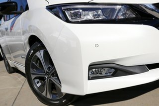2021 Nissan Leaf ZE1 Arctic White 1 Speed Reduction Gear Hatchback.