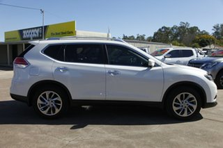 2014 Nissan X-Trail T32 Ti X-tronic 4WD White 7 Speed Constant Variable Wagon.
