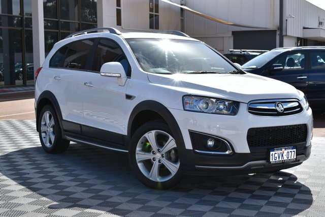 Used Holden Captiva CG MY15 7 AWD LTZ, 2014 Holden Captiva CG MY15 7 AWD LTZ White 6 Speed Sports Automatic Wagon