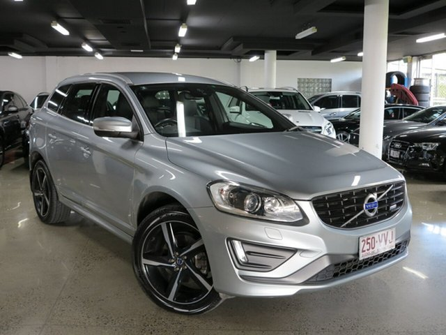 Used Volvo XC60 DZ MY15 D5 Geartronic AWD R-Design, 2015 Volvo XC60 DZ MY15 D5 Geartronic AWD R-Design Silver 6 Speed Sports Automatic Wagon