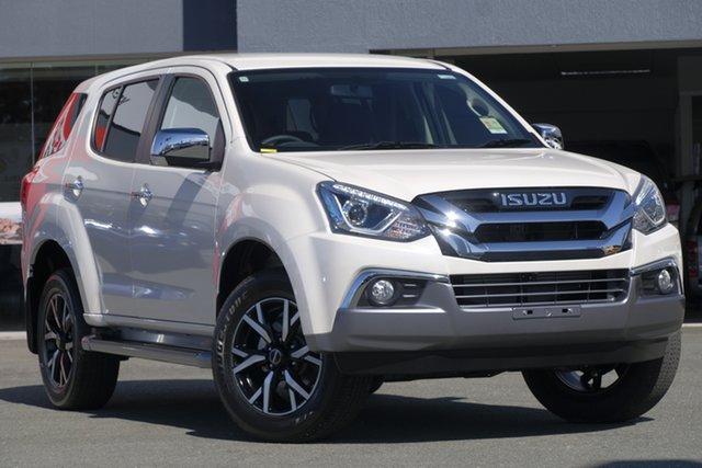 New Isuzu MU-X MY19 LS-U Rev-Tronic, 2019 Isuzu MU-X MY19 LS-U Rev-Tronic Silky White 6 Speed Sports Automatic Wagon
