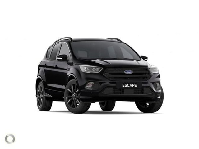 New Ford Escape ZG 2019.25MY ST-Line AWD, 2019 Ford Escape ZG 2019.25MY ST-Line AWD Shadow Black 6 Speed Sports Automatic SUV