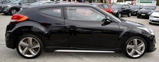 2013 Hyundai Veloster FS2 SR Coupe Turbo Black 6 Speed Sports Automatic Hatchback