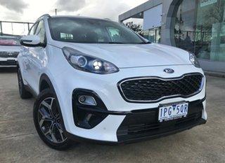 2018 Kia Sportage QL MY19 Si 2WD Premium Clear White 6 Speed Sports Automatic Wagon.