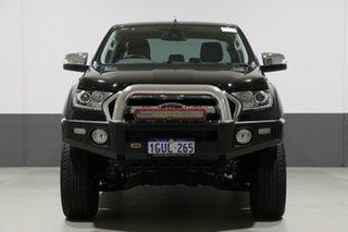 2017 Ford Ranger PX MkII MY17 XLT 3.2 (4x4) Black 6 Speed Manual Dual Cab Utility.