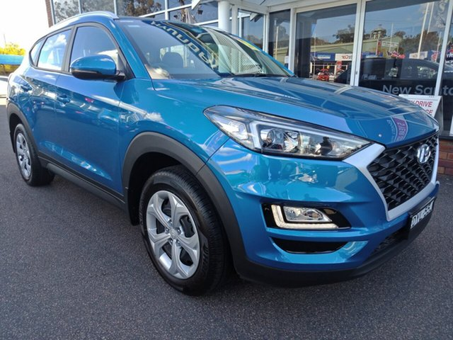 Demo Hyundai Tucson TL3 MY19 Go AWD, 2018 Hyundai Tucson TL3 MY19 Go AWD Aqua Blue 8 Speed Sports Automatic Wagon