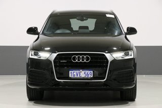 2015 Audi Q3 8U MY16 2.0 TFSI Sport Quattro (132kW) Black 7 Speed Auto Dual Clutch Wagon.