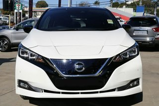2021 Nissan Leaf ZE1 Arctic White 1 Speed Reduction Gear Hatchback