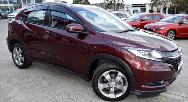 Used Honda HR-V MY17 VTi-S, 2018 Honda HR-V MY17 VTi-S Red/Black 1 Speed Constant Variable Hatchback