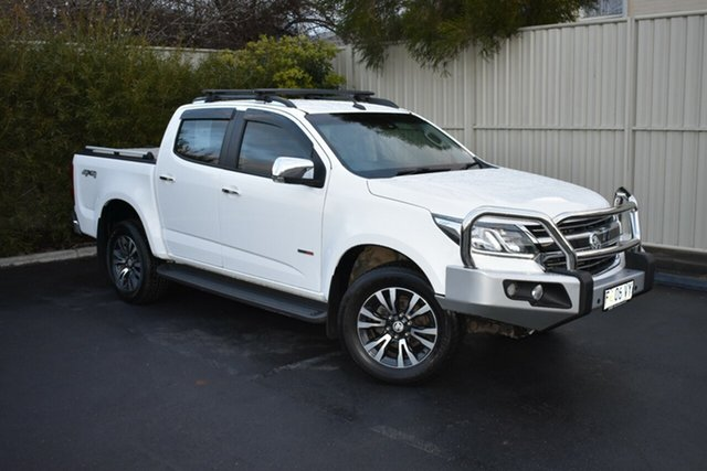 Used Holden Colorado RG MY18 LTZ Pickup Crew Cab, 2017 Holden Colorado RG MY18 LTZ Pickup Crew Cab White 6 Speed Sports Automatic Utility