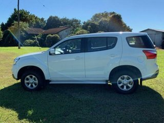 2019 Isuzu MU-X Splash White 6 Speed Automatic Wagon.