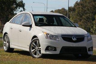 2014 Holden Cruze JH Series II MY14 SRi White 6 Speed Sports Automatic Sedan.
