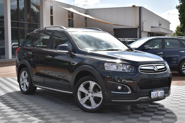 Used Holden Captiva CG MY15 5 AWD LTZ, 2015 Holden Captiva CG MY15 5 AWD LTZ Black 6 Speed Sports Automatic Wagon