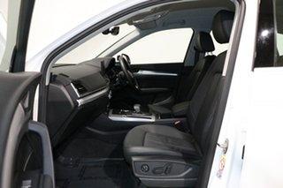 2018 Audi Q5 FY MY18 2.0 TDI Quattro Design Ibis White 7 Speed Auto S-Tronic Wagon
