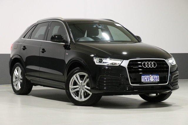 Used Audi Q3 8U MY16 2.0 TFSI Sport Quattro (132kW), 2015 Audi Q3 8U MY16 2.0 TFSI Sport Quattro (132kW) Black 7 Speed Auto Dual Clutch Wagon