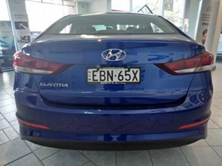 2018 Hyundai Elantra AD MY18 Elite Intense Blue 6 Speed Sports Automatic Sedan