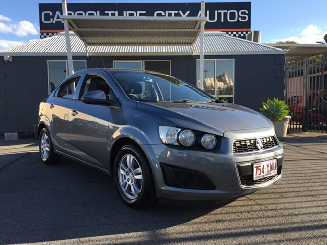 Used Holden Barina TM MY13 CD, 2012 Holden Barina TM MY13 CD Grey 6 Speed Automatic Sedan
