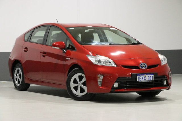 Used Toyota Prius ZVW30R MY12 Hybrid, 2014 Toyota Prius ZVW30R MY12 Hybrid Wildfire Continuous Variable Hatchback