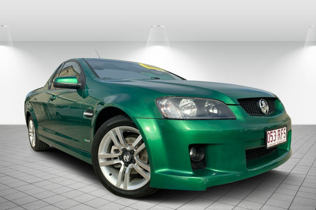 Used Holden Ute VE II SV6, 2010 Holden Ute VE II SV6 Green 6 Speed Manual Utility
