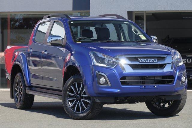 New Isuzu D-MAX MY19 LS-T Crew Cab, 2020 Isuzu D-MAX MY19 LS-T Crew Cab Cobalt Blue 6 Speed Sports Automatic Utility