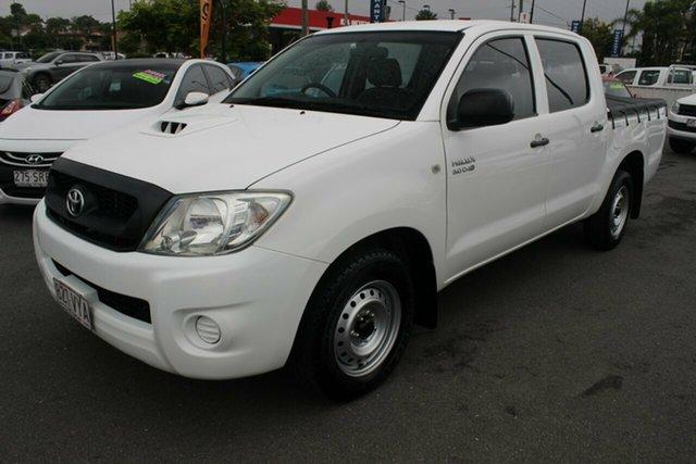 Used Toyota Hilux KUN16R MY10 SR 4x2, 2010 Toyota Hilux KUN16R MY10 SR 4x2 White 5 Speed Manual Utility
