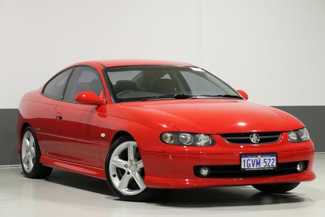 Used Holden Monaro V2 Series II CV8, 2002 Holden Monaro V2 Series II CV8 Red 4 Speed Automatic Coupe