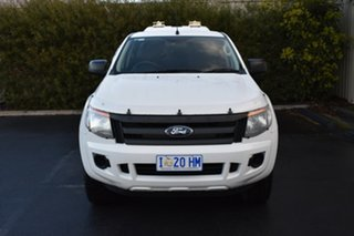 2014 Ford Ranger PX XL Double Cab White 6 Speed Sports Automatic Utility.