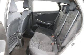 2018 Hyundai Accent RB6 MY18 Sport White 6 Speed Automatic Sedan