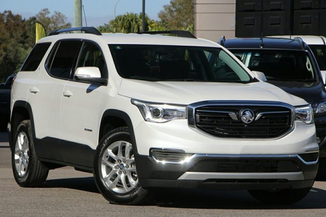Demo Holden Acadia AC MY19 LT 2WD, 2019 Holden Acadia AC MY19 LT 2WD Abalone White 9 Speed Sports Automatic Wagon