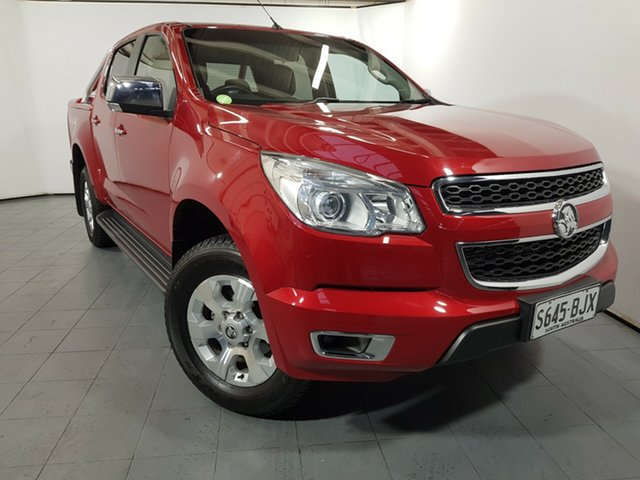 Used Holden Colorado RG MY16 LT Crew Cab, 2016 Holden Colorado RG MY16 LT Crew Cab Red 6 Speed Sports Automatic Utility