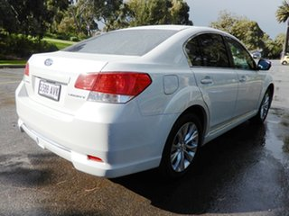 2012 Subaru Liberty B5 MY13 2.5X Lineartronic AWD White 6 Speed Constant Variable Sedan.