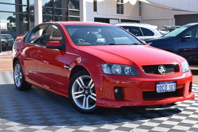 Used Holden Commodore VE MY09.5 SV6, 2009 Holden Commodore VE MY09.5 SV6 Red/Black 5 Speed Sports Automatic Sedan